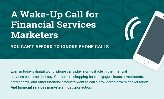 Infographic: A Wake Up Call for Financial Services Marketers